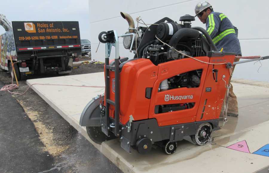 Slab Sawing Services Holes Of San Antonio